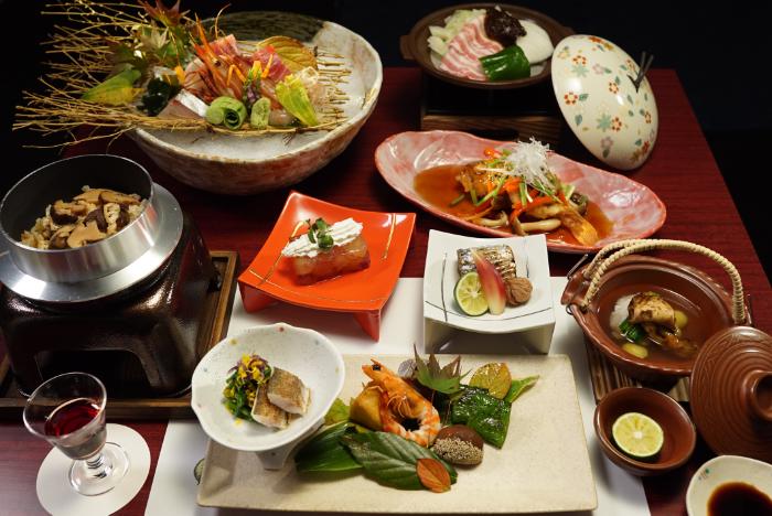 ご夕食 季節の和食会席料理